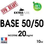 TPD BELGIQUE - Pack de 10 NICOBOOST 20mg 50/50 de EXTRAPURE