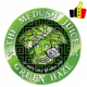 TPD BE/FR - GREEN HAZE 50ML Boosté en arômes de MEDUSA